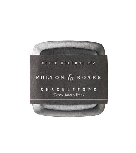 Fulton & Roark Solid Cologne Shackleford - Grooming - Iron and Resin