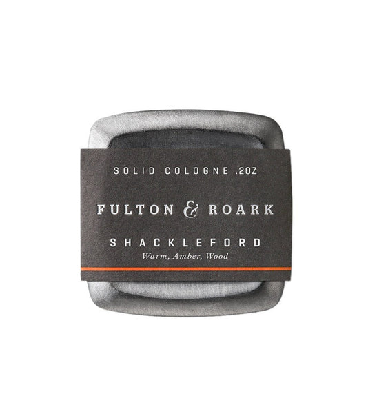 Fulton & Roark- Shackleford Solid Cologne