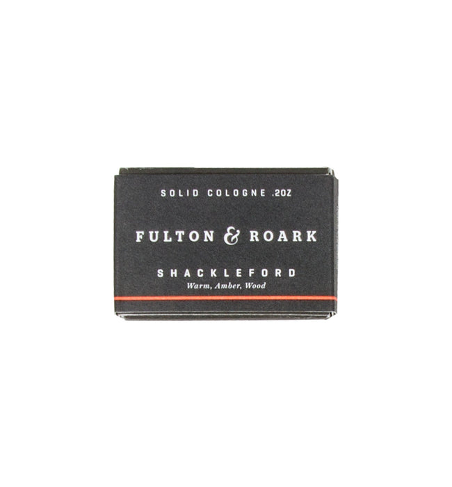 Fulton & Roark Shackleford Solid Cologne Refill - Grooming: Cologne - Iron and Resin