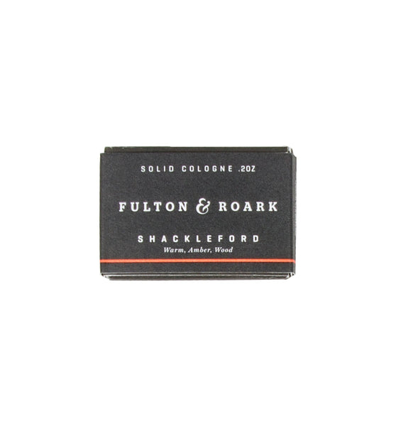 Fulton & Roark Shackleford Solid Cologne Refill