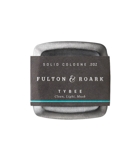 Fulton & Roark Solid Cologne Tybee - Grooming - Iron and Resin