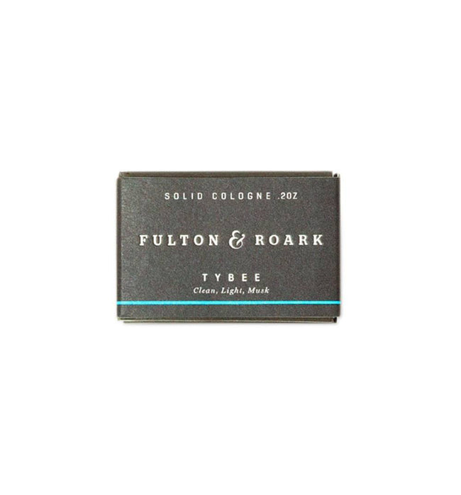 Fulton & Roark Tybee Solid Cologne Refill - Grooming: Cologne - Iron and Resin