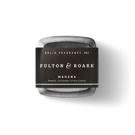 Fulton & Roark Solid Cologne - Mahana - O/S - Grooming - Iron and Resin