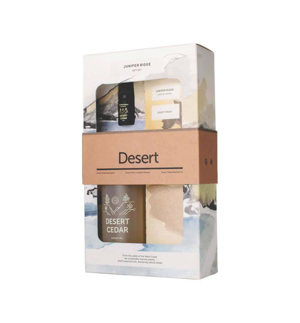 Juniper Ridge Gift Pack- Desert - Home Essentials - Iron and Resin