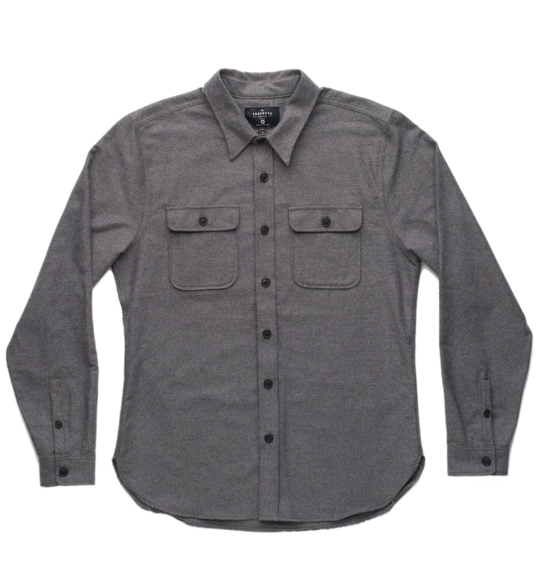 Freenote Gilroy Button Up - Tops - Iron and Resin
