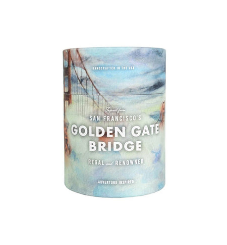 National Park Candle - Golden Gate - Home Essentials - Iron and Resin