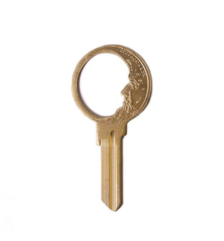 Good Worth Good Night Key - Brass - Carry Essentials - Iron and Resin