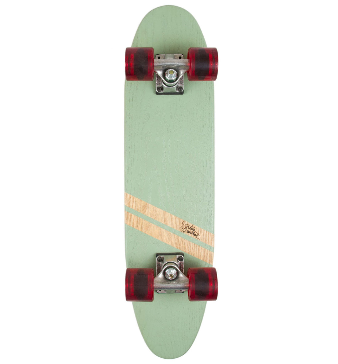 World's Greatest Skateboard- Double Stripe - Skate - Iron and Resin