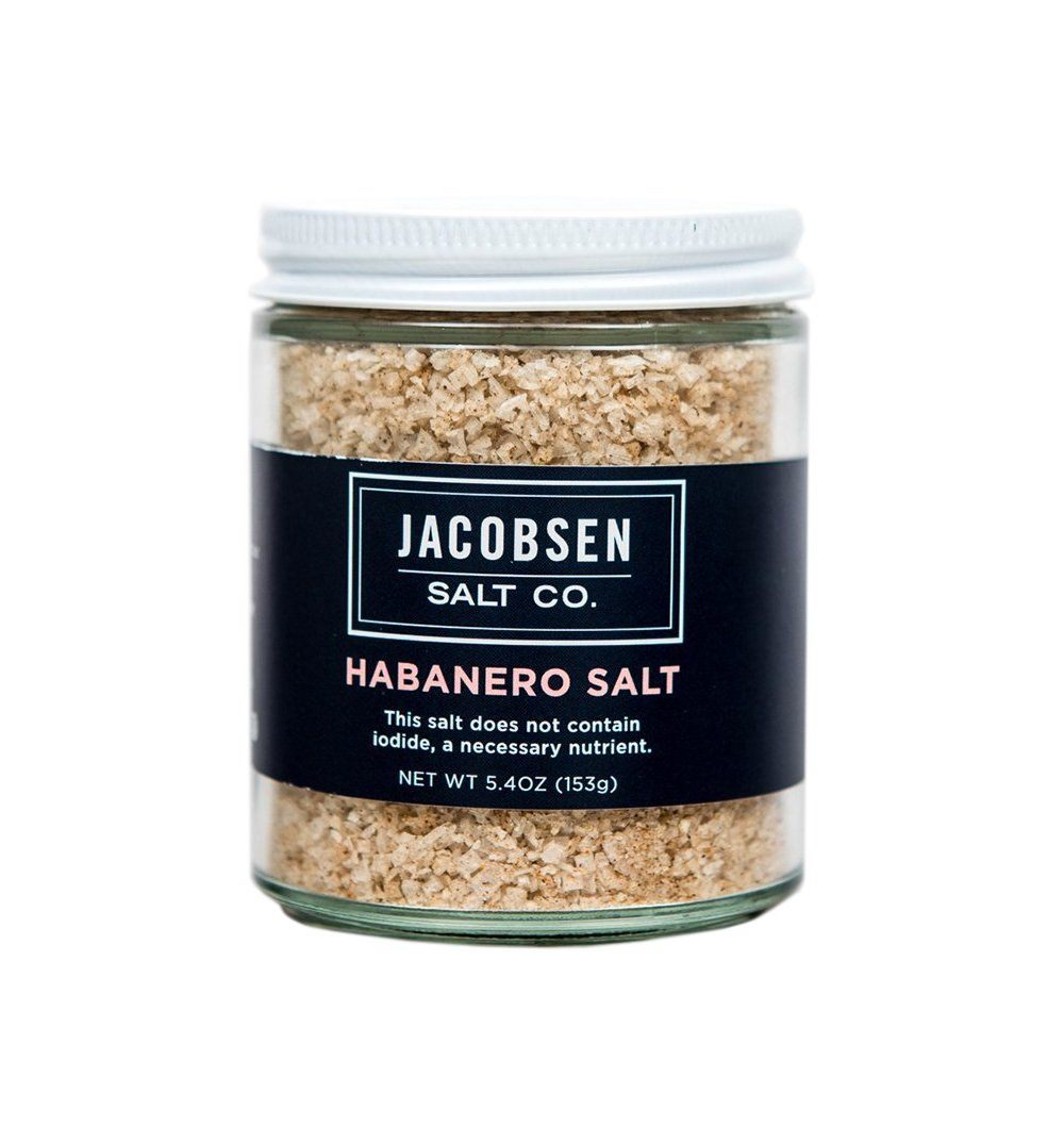 Jacobsen Salt Co. 5oz Habanero Salt - Kitchen/Bar - Iron and Resin