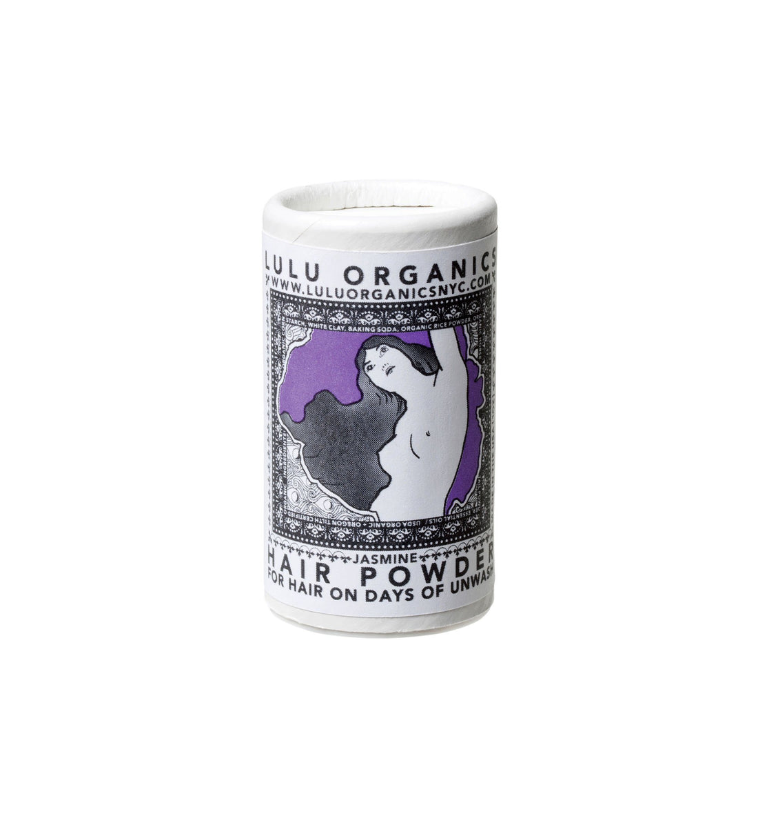 Lulu Organics Travel Size Hair Powder - Jasmine - 1oz - Grooming - Iron and Resin