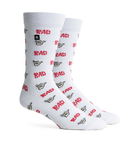 d9ae08e2f95c8 Richer Poorer Hang Loose - Ivory Red - Socks/Underwear - Iron and Resin
