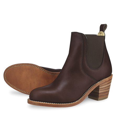 Red Wing Harriet Mahogany Oro-iginal, 3392 - Boots - Iron and Resin