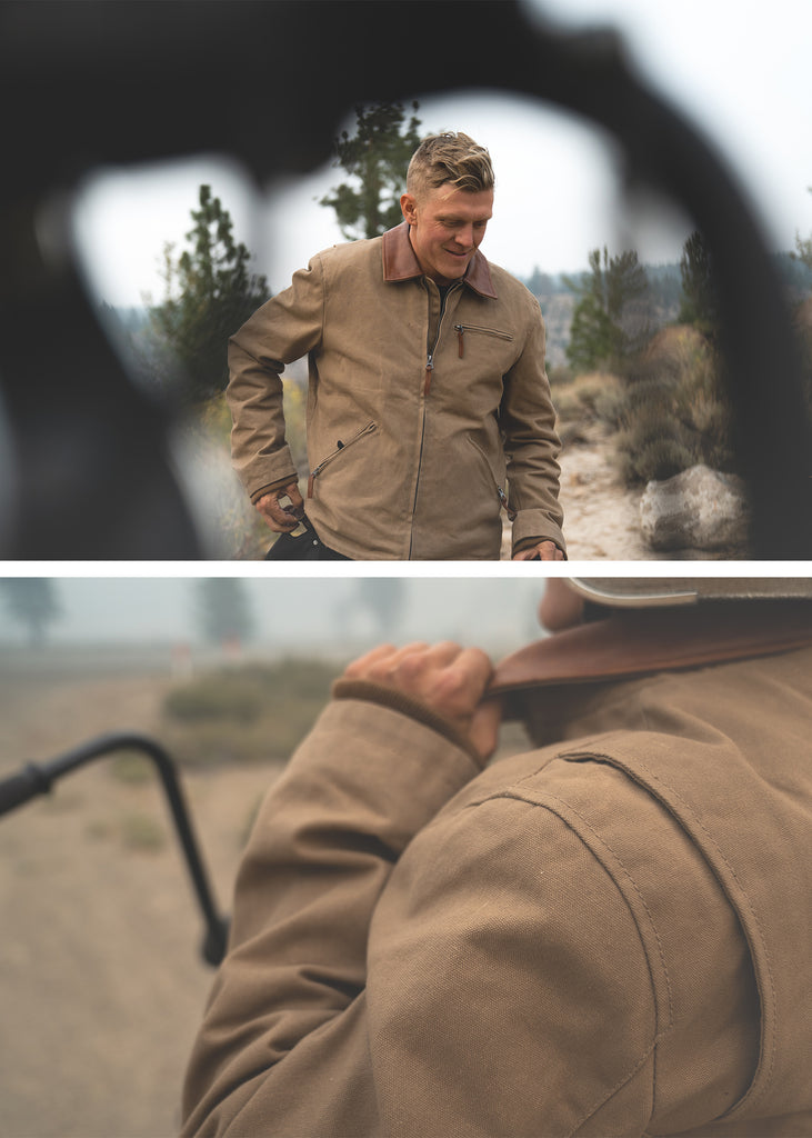 Iron & Resin Hawk Jacket in Field Tan