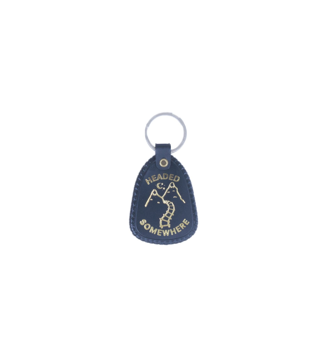 Explorer's Press - Headed Somewhere Keychain - Accessories: Keychains - Iron and Resin