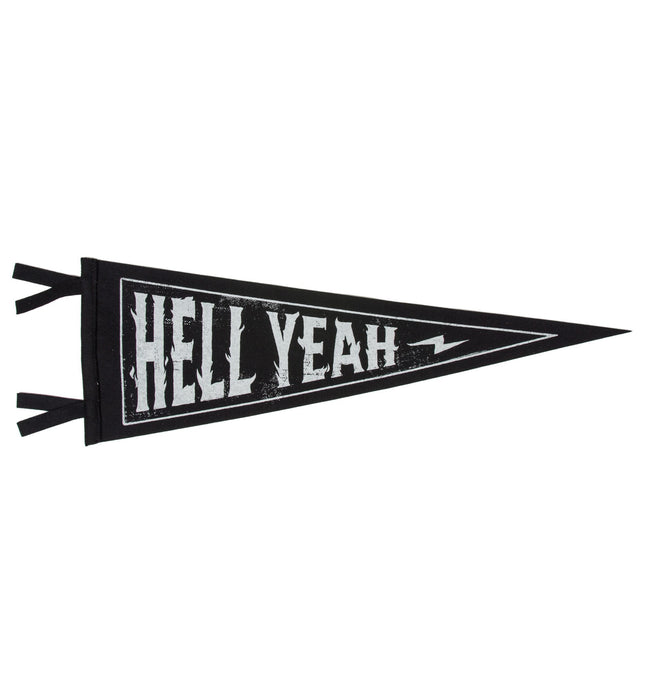 Oxford Pennant - Hell Yeah - Houseware - Iron and Resin