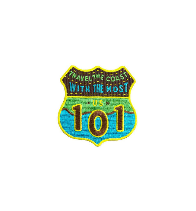 Kimberlin Co. Patch - Highway 101 - Accessories: Patches - Iron and Resin