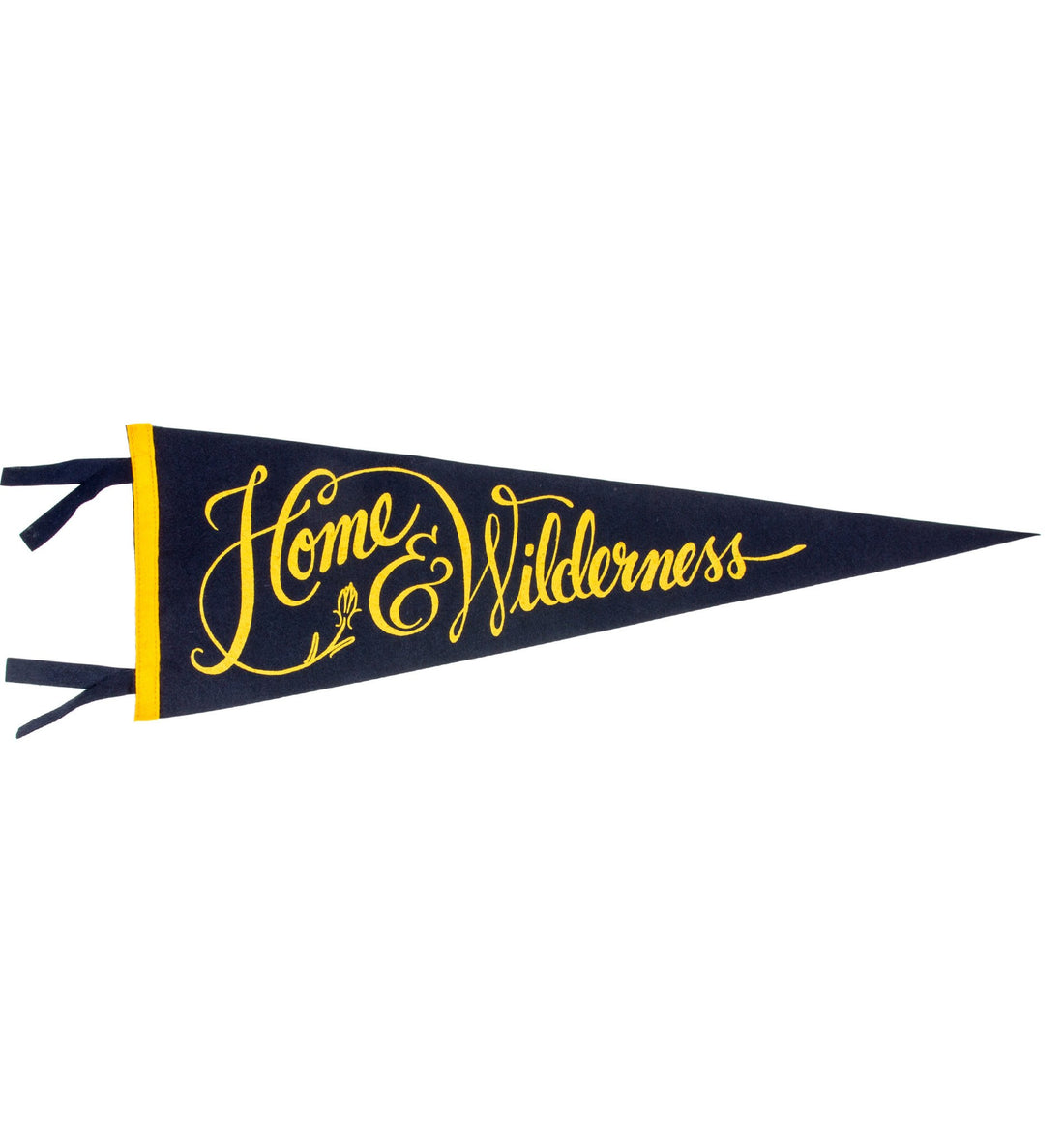 Oxford Pennant - Home & Wilderness - Living Space - Iron and Resin