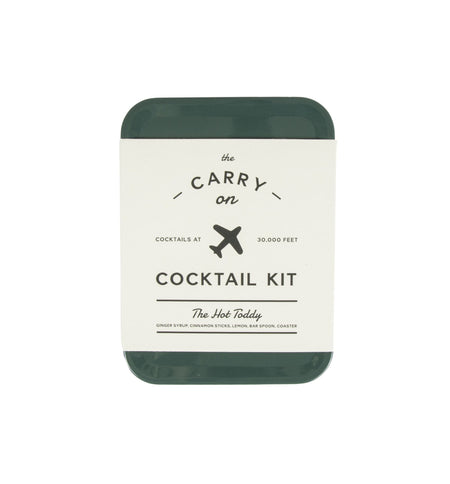 The Hot Toddy Carry On Cocktail Kit - Kitchen/Bar - Iron and Resin