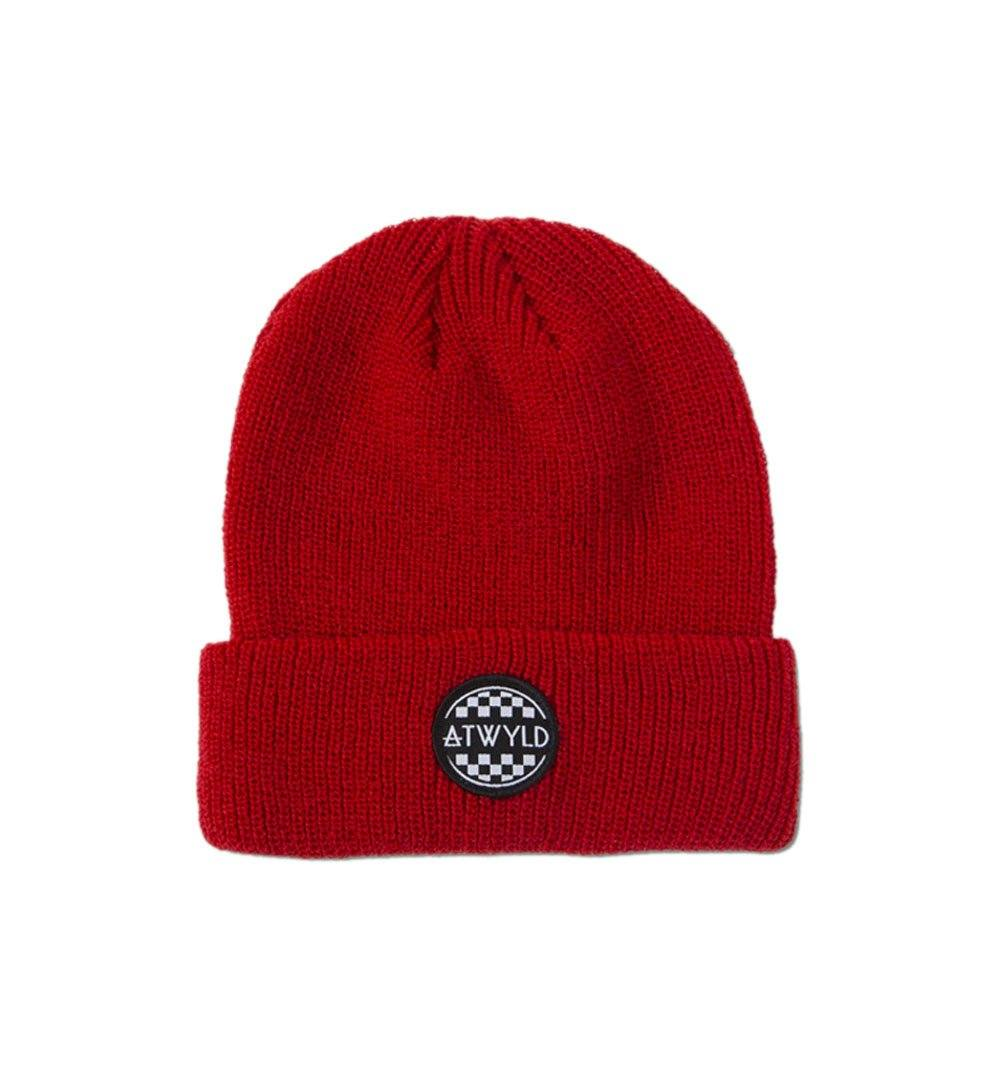 Atwyld Hot Lop Beanie - Red - Headwear - Iron and Resin