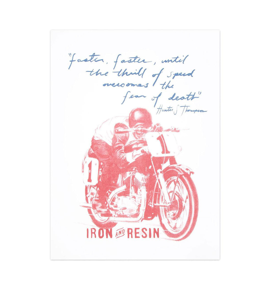 HUNTER S. THOMPSON POSTER - Accessories: Posters - Iron and Resin