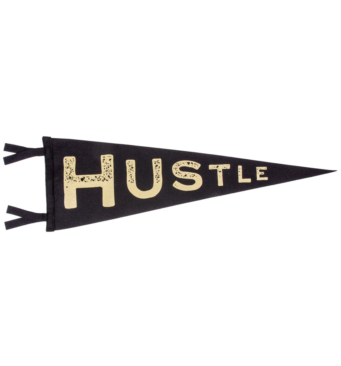 Oxford Pennant - Hustle - Living Space - Iron and Resin