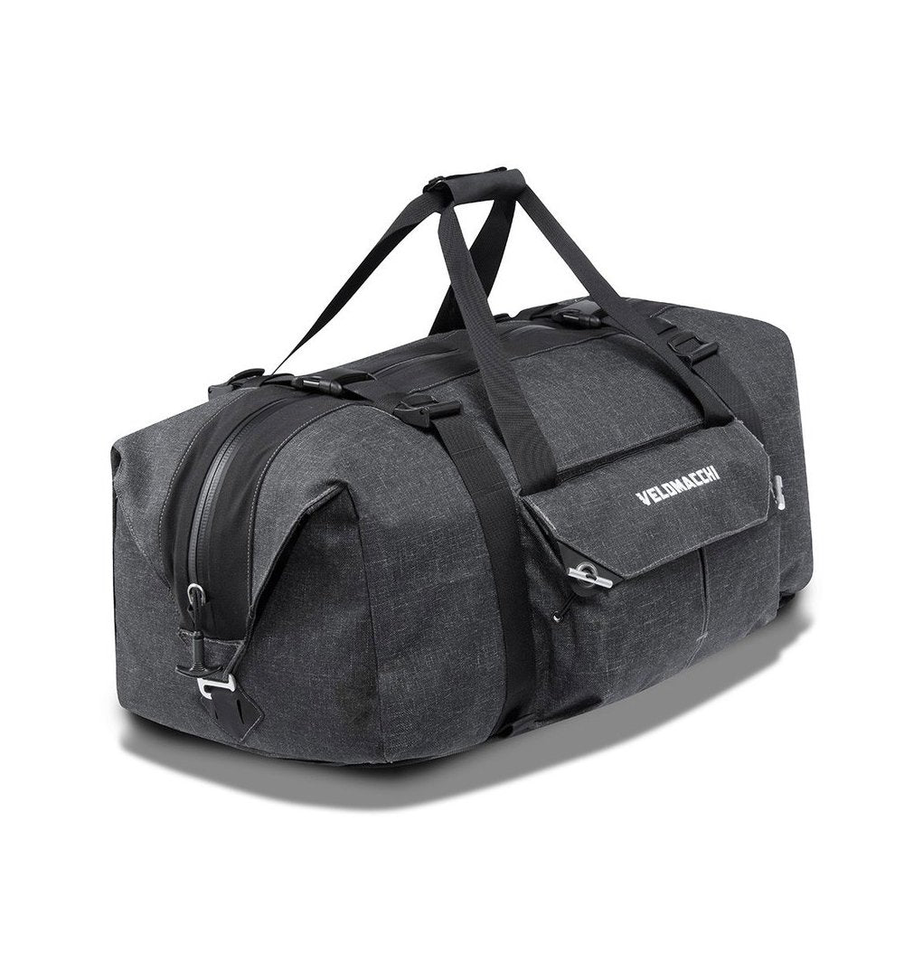 Velomacchi Speedway Hybrid Travel Duffle Pack - Black - 50L - Bags/Luggage - Iron and Resin