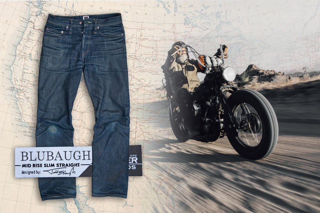 Tellason Blubaugh Mid-Rise Slim Straight 16.5 oz Jean - Bottoms - Iron and Resin