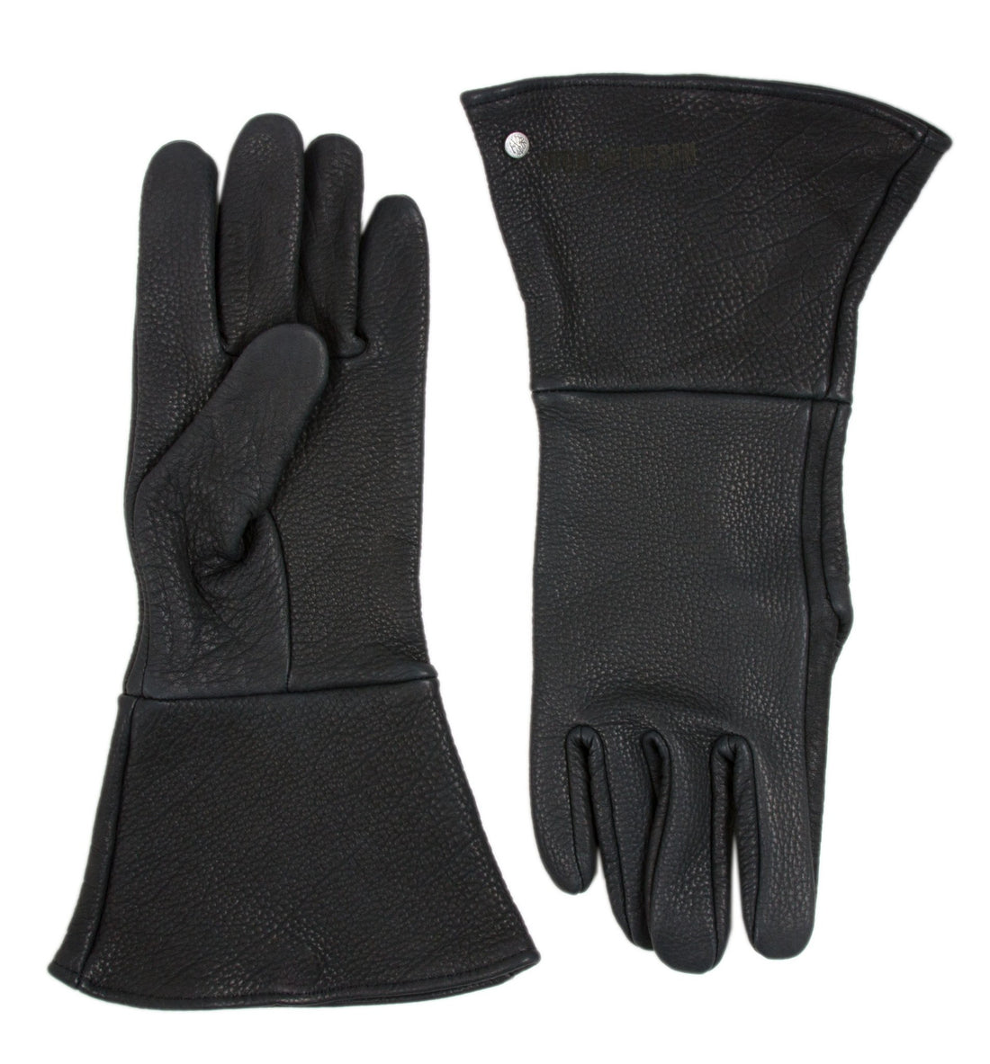 BUFFALO GAUNTLET RIDER GLOVE - Moto: Gloves - Iron and Resin