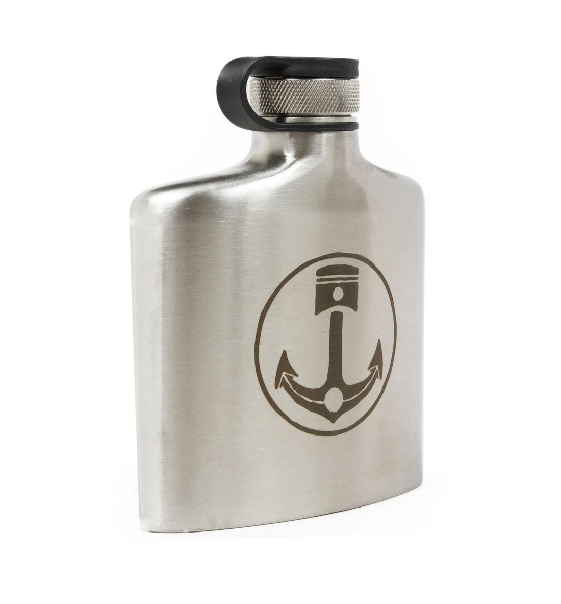 INR 6oz Flask - Kitchen/Bar - Iron and Resin