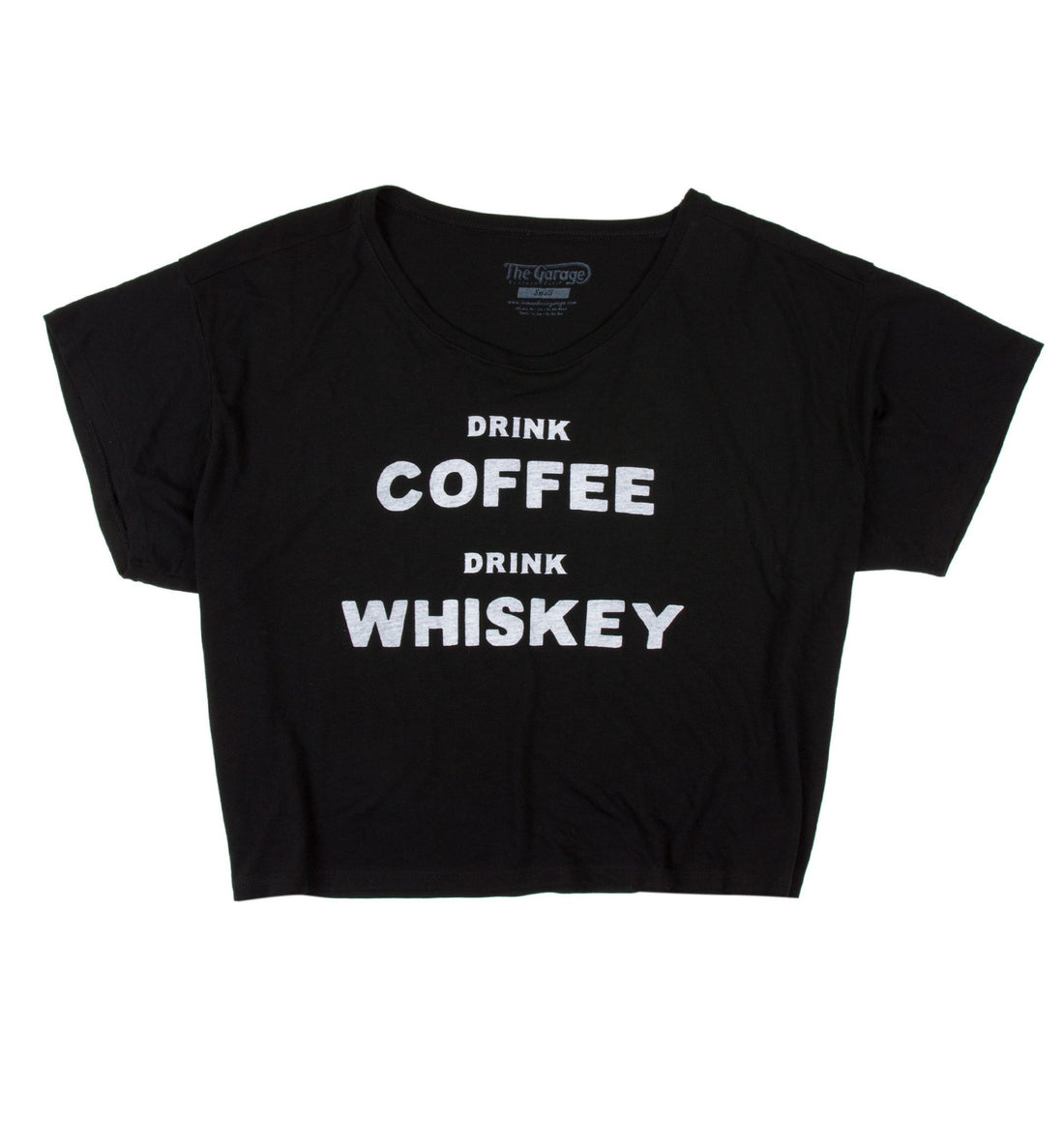 INR Drink Coffee Women's Boxy Tee - Apparel: Women's: T-Shirts - Iron and Resin