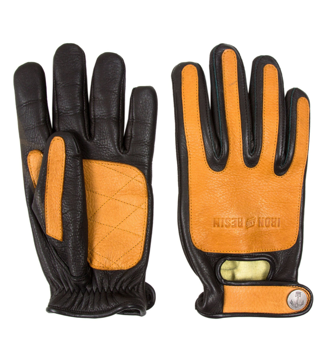 Iron & Resin Kevlar Velocity Gloves - Moto: Gloves - Iron and Resin