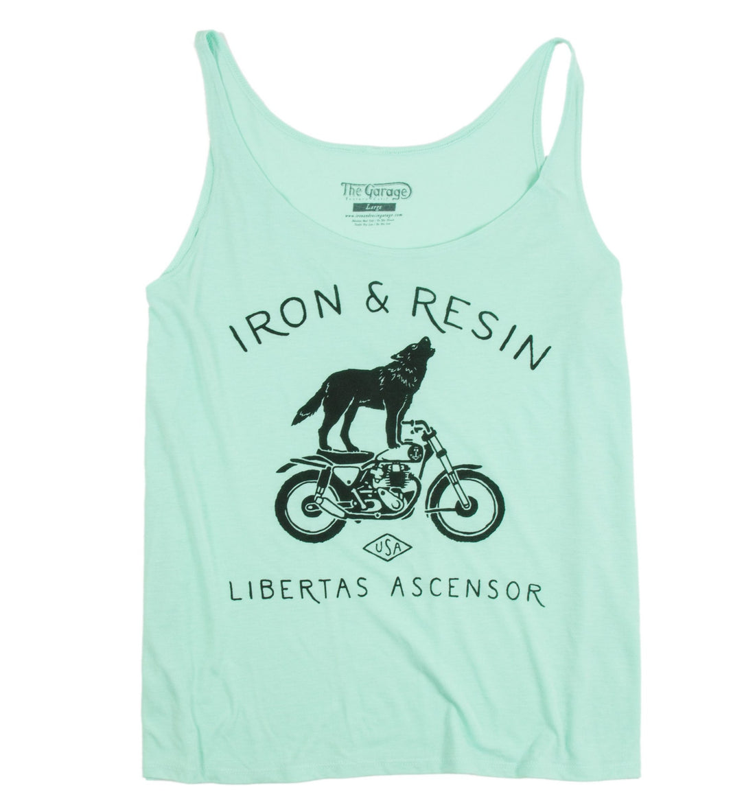 INR Howling Women's Tank - Apparel: Women's: T-Shirts - Iron and Resin