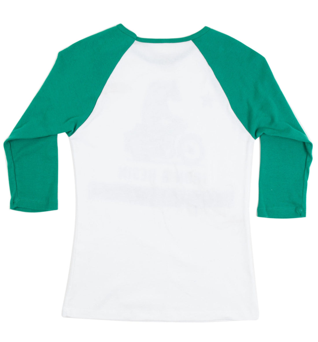 INR Moto Bear Women's Baseball Tee - Apparel: Women's: T-Shirts - Iron and Resin