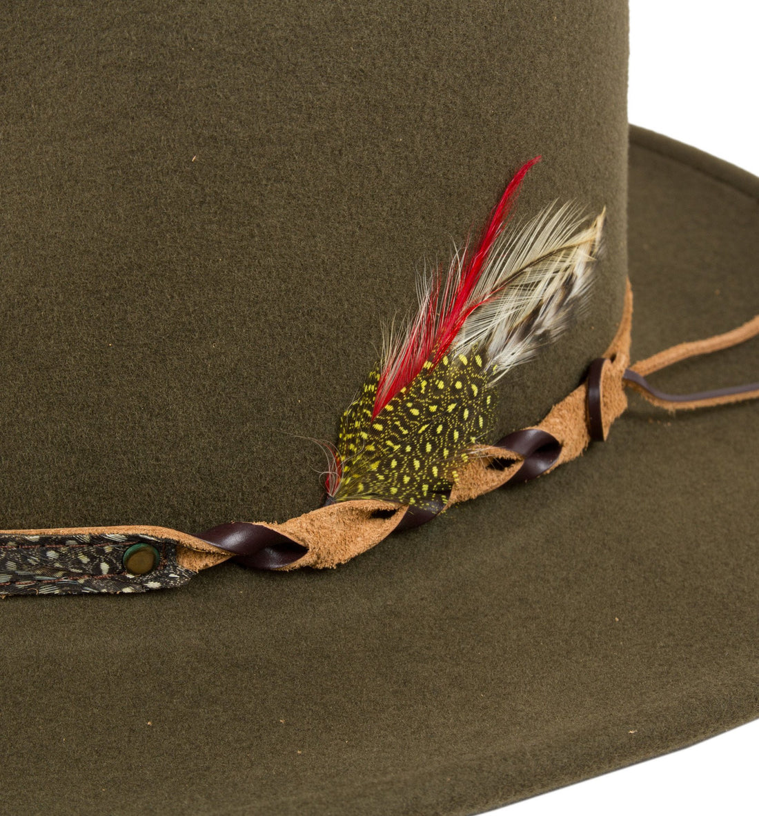 Hackle Hat - Accessories: Headwear: Men's - Iron and Resin