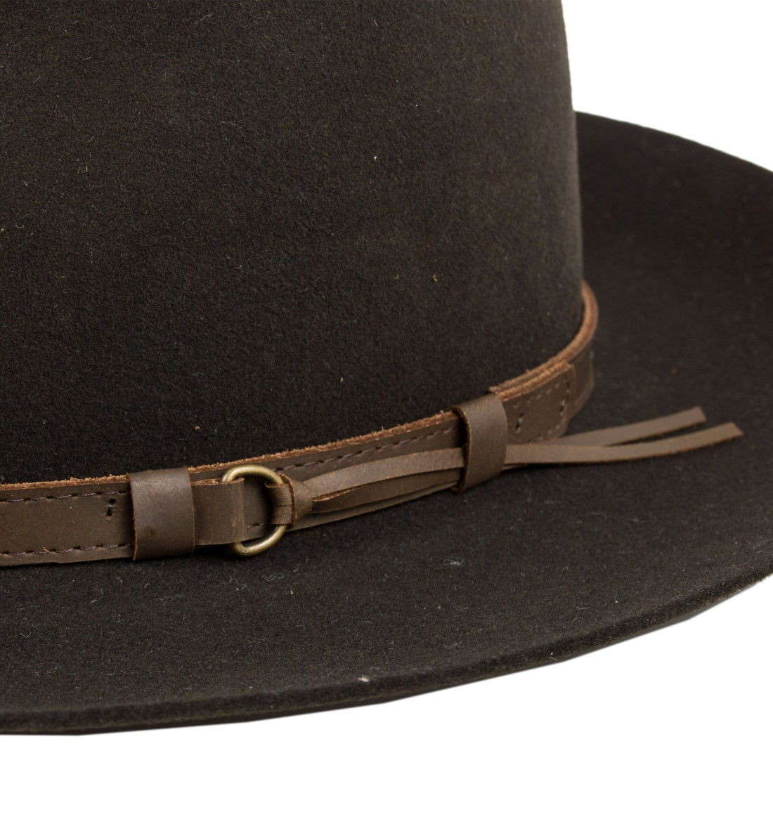 Tin Pan Hat - Accessories: Headwear: Men's - Iron and Resin