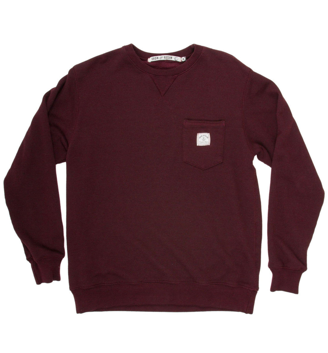INR stocker crew - Apparel: Men's: Fleece - Iron and Resin