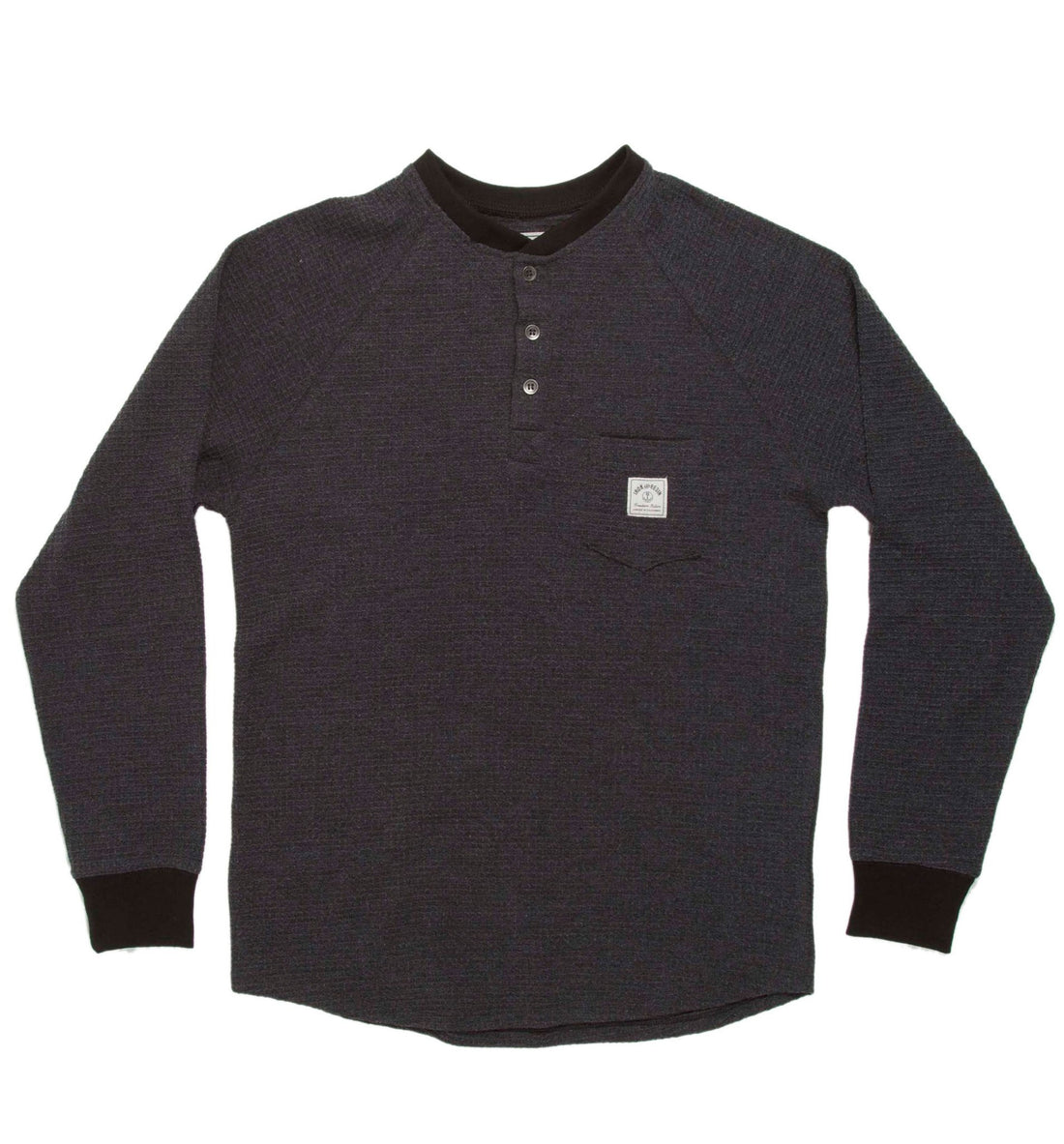 INR Paradigm Henley - Apparel: Men's: Knits - Iron and Resin