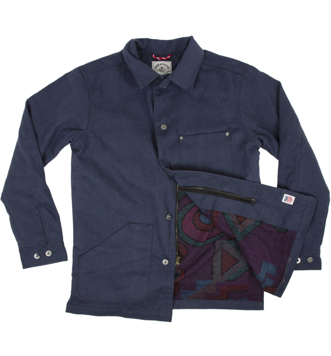 INR Industry Chore Jacket - Apparel: Men's: Outerwear - Iron and Resin