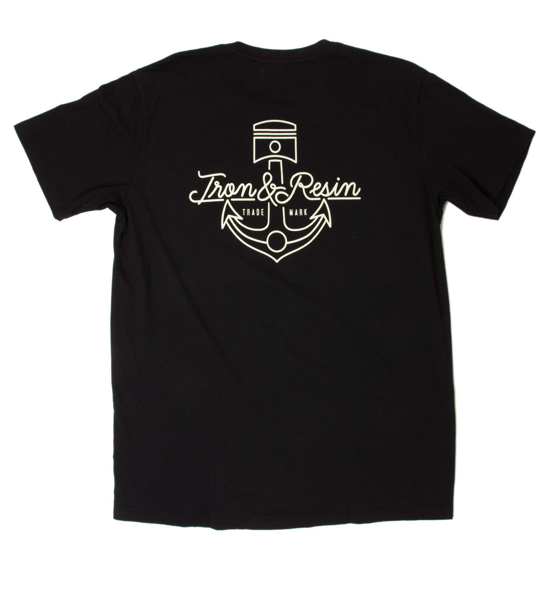 INR Anchorage Tee - Apparel: Men's: Graphic T-Shirts - Iron and Resin