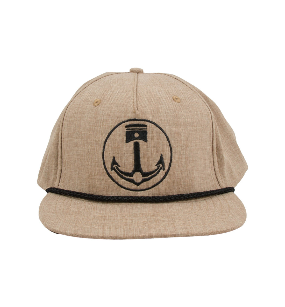 Anchor Piston Hat - Headwear - Iron and Resin