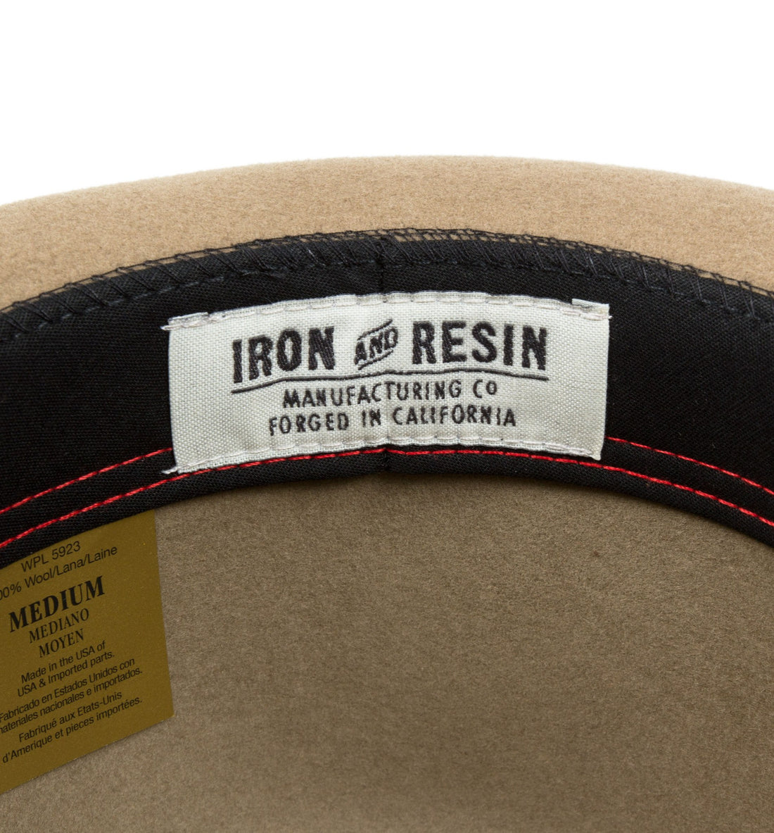 INR lead belly hat - Headwear - Iron and Resin