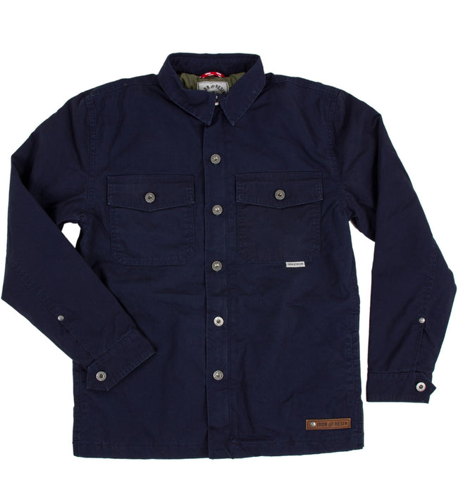 INR Wheeler Shirt Jacket - Apparel: Men's: Shirt Jacket - Iron and Resin