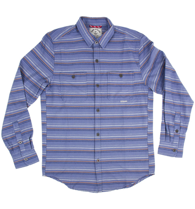 INR Nevada Stripe Shirt - Apparel: Men's: Wovens - Iron and Resin