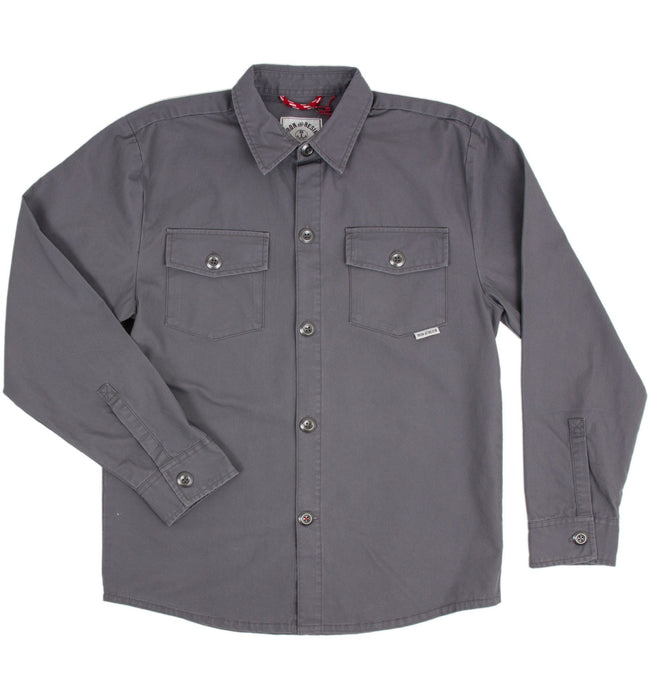 INR Trade Shirt - Apparel: Men's: Wovens - Iron and Resin