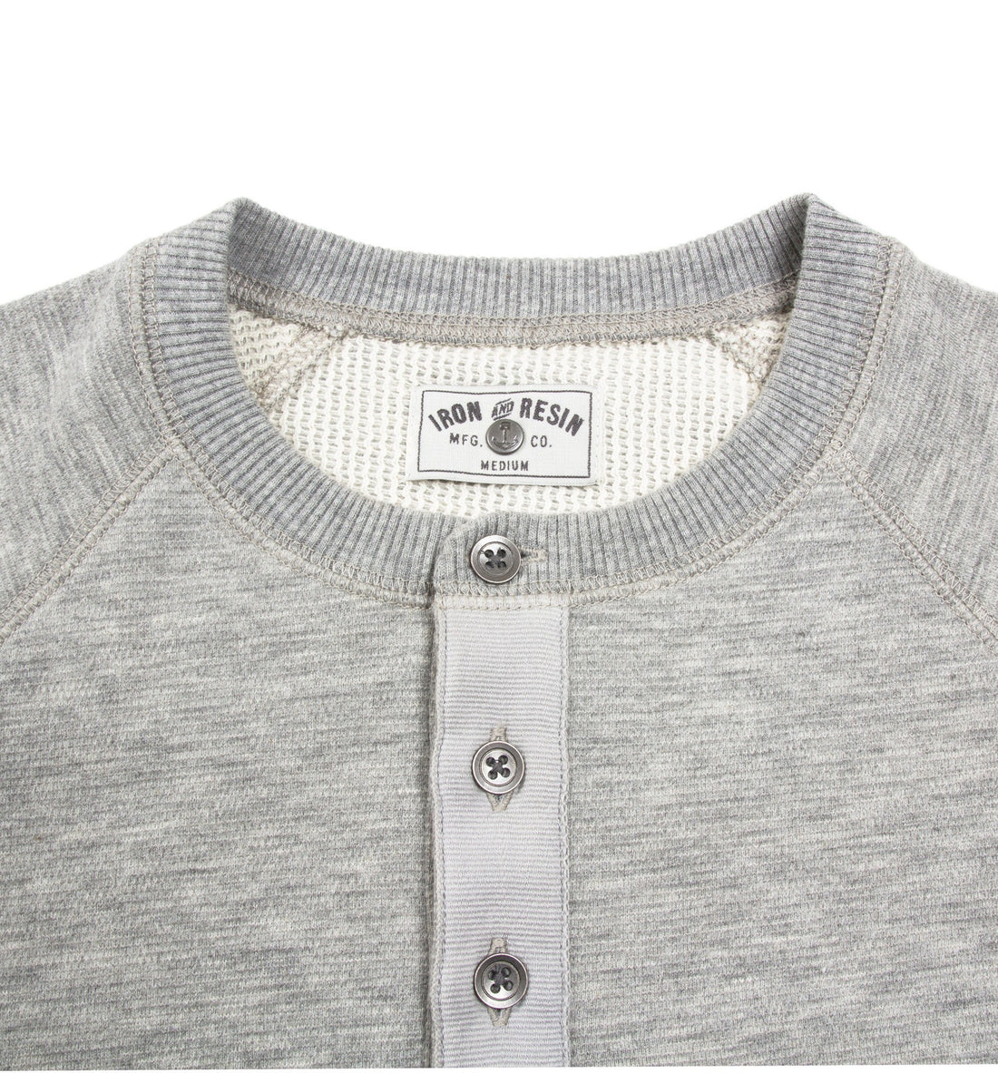 INR hat trick henley - Apparel: Men's: Knits - Iron and Resin
