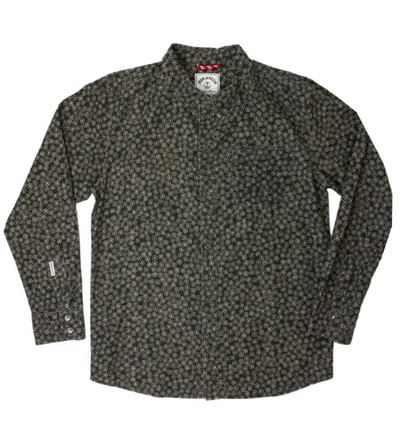 INR Bar Knuckles Shirt - Apparel: Men's: Wovens - Iron and Resin