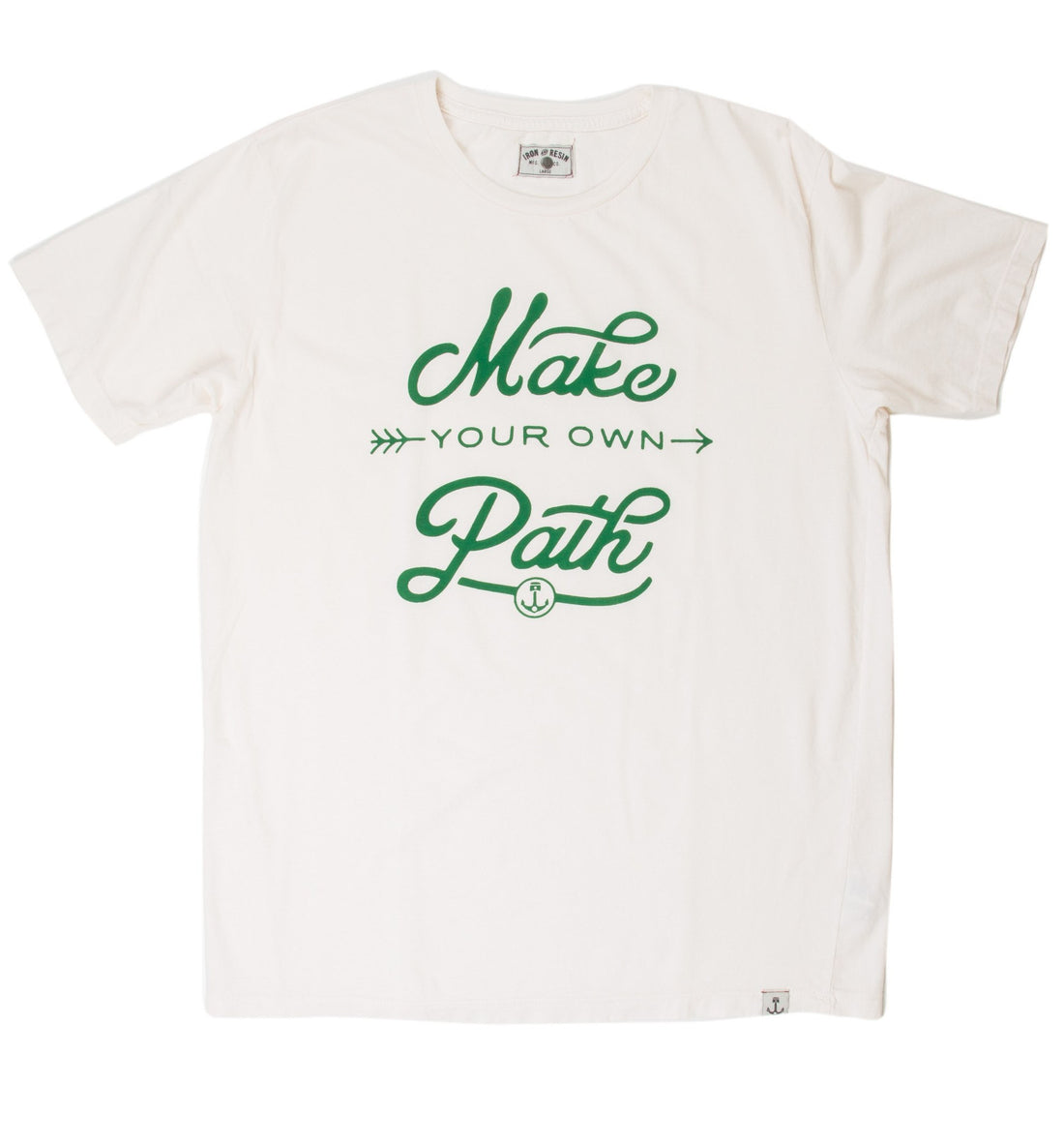 INR Pathmaker Teee - Apparel: Men's: Graphic T-Shirts - Iron and Resin