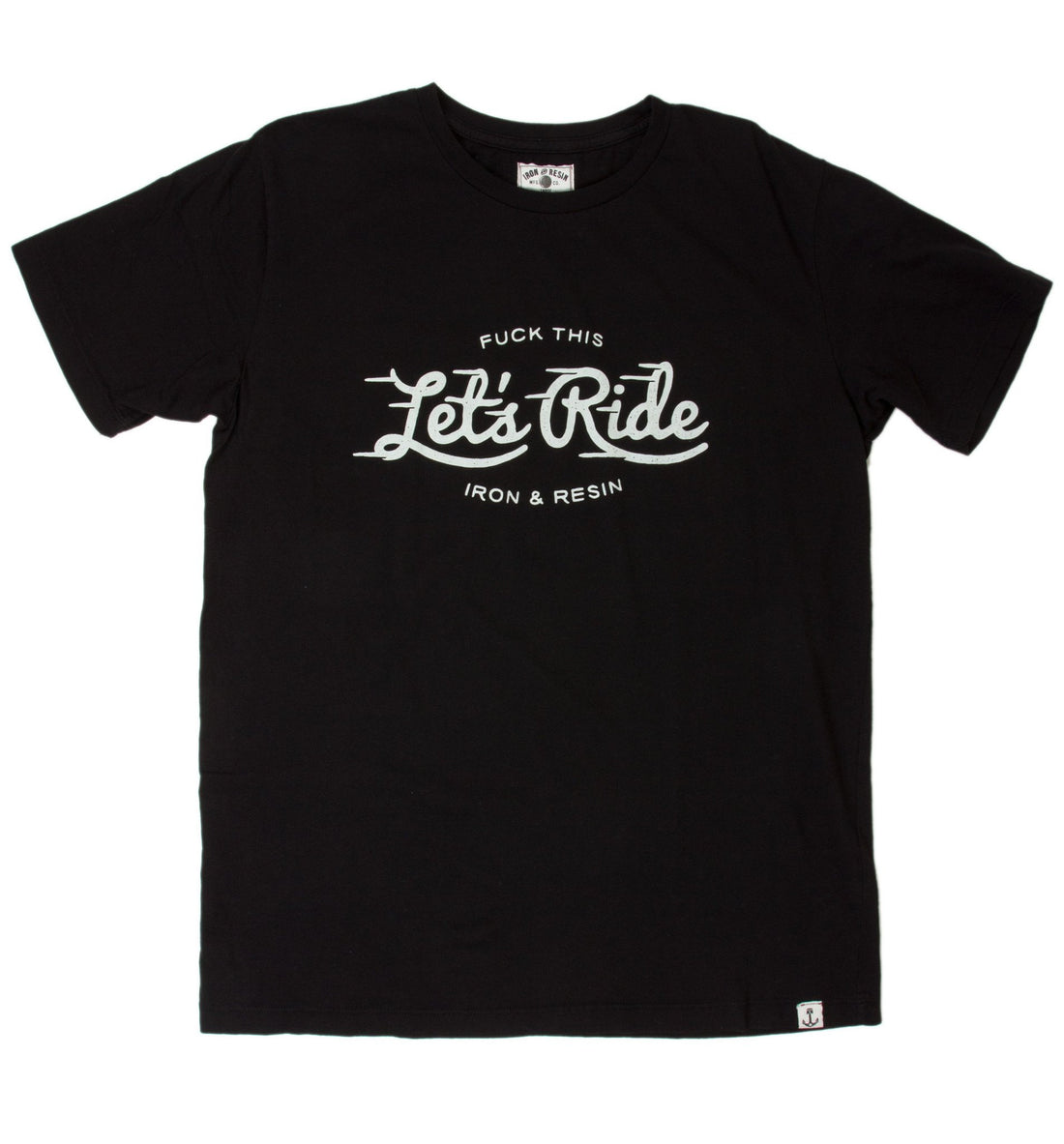 INR Let's Ride Tee - Apparel: Men's: Graphic T-Shirts - Iron and Resin