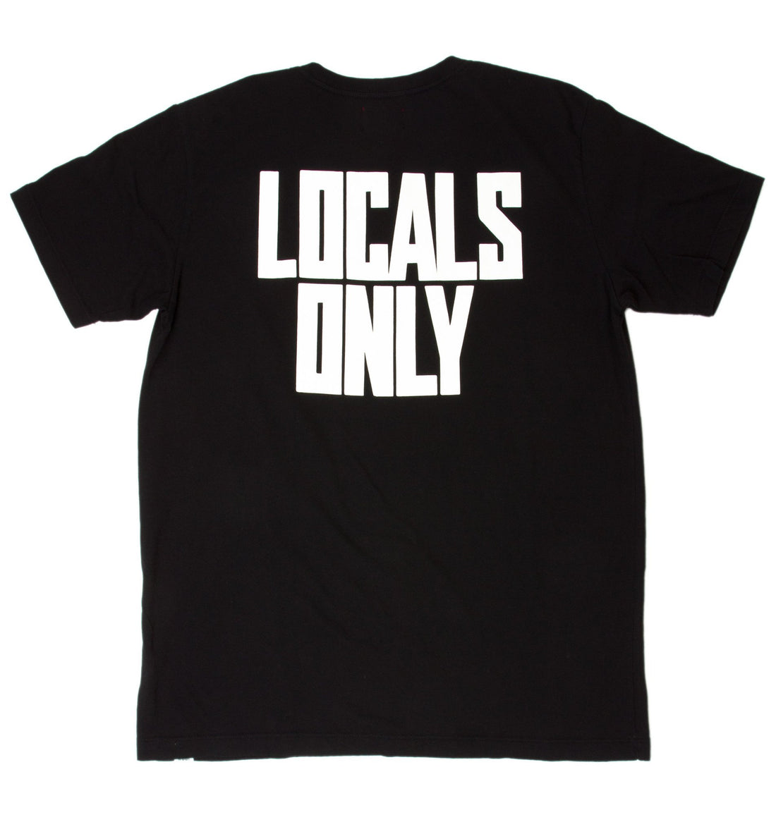 INR Locals Only Tee - Apparel: Men's: Graphic T-Shirts - Iron and Resin