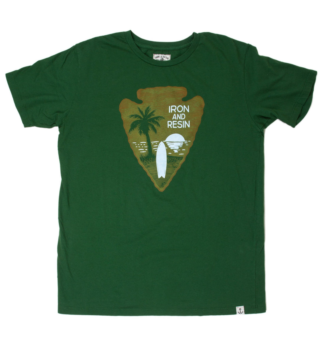INR NPS Tee - Apparel: Men's: Graphic T-Shirts - Iron and Resin
